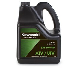 KAWASAKI PERFORMANCE 4-STROKE ATV/UTILITY VEHICLE ENGINE OIL - GALLON, 10W-40 [K61021-304]